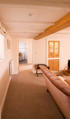 Higher Lanner Farm Living Room