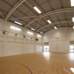 Inside Newquay School Hall