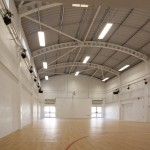 Inside of Newquay School Hall